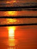 Sun-Flamme Lizenzfreies Stockfoto