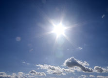 Sun flare Royalty Free Stock Photography