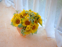 Sun Flower,Flower Arrangement Stock Photography