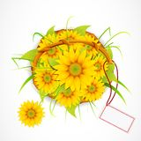 Sun Flower Bouquet Royalty Free Stock Image
