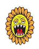 Sun flower monster Stock Photos