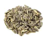 Sun flower seeds Stock Photo