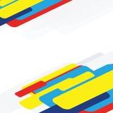 Sun & fondo blu illustrazione vettoriale
