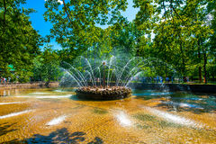 The Sun Fountain Royalty Free Stock Images