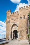 Sun Gate in the city of Toledo, Spain Royalty Free Stock Image