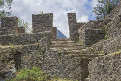 Sun Gate, Machu Picchu Stock Photos