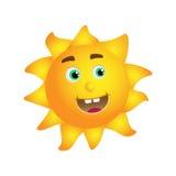 Sun-Gelb lizenzfreie abbildung