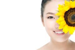 Sun girl Stock Images