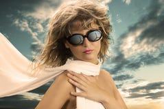 Sun-Gläser und Art und Weise Lizenzfreies Stockbild