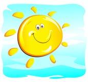 Sun (glücklich) Lizenzfreie Abbildung