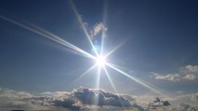 Sun-Glanz für uns! stockfotos