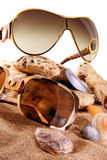 Sun glass Royalty Free Stock Photo