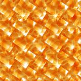 Sun and glass texture. Vector seamless background Stock Image