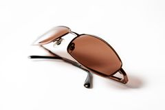 Sun glasses. On a white background Royalty Free Stock Image