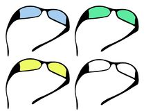 Sun glasses_ Stock Photography