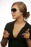 Sun-glasses Royalty Free Stock Image