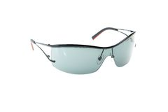Sun-glasses. Against white background Royalty Free Stock Image