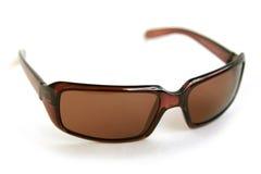 Sun glasses. Brown sun glasses Stock Photo