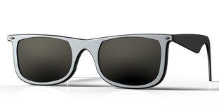 Sun glasses on  a back ground Royalty Free Stock Photos