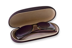 Sun Glasses in case Royalty Free Stock Image