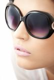 Sun glasses girl Royalty Free Stock Images
