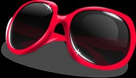 Sun Glasses, Glasses, Dark, Red Stock Photography