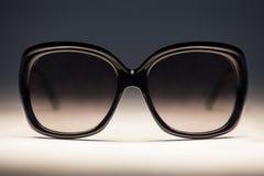 Sun glasses. Gradient color and sun glasses Stock Photos
