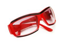 Sun glasses isolated Royalty Free Stock Photography