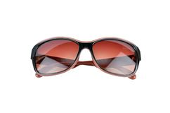 Sun glasses. Isolated on the white background stock photos