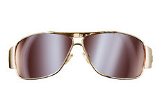 Sun glasses. Mix of photograph and Royalty Free Stock Images