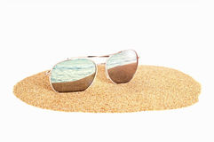 Sun glassess Royalty Free Stock Photos