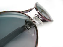 Sun Glasses On White Background Royalty Free Stock Images