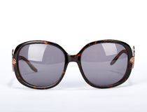 Sun glasses. On a white background royalty free stock photos