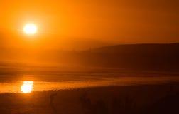 Sun Glow stock photo