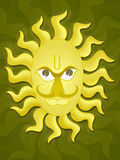 The Sun God Stock Images
