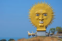 Sun God Chariot monument. At Murdeshwar temple in India Stock Photography