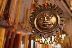 Sun God Hanging Chimes Stock Photos