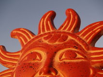 Sun God Rising in the Sky Royalty Free Stock Photo