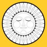 Sun, graphic ethnic symbol  icon  Vector. Sun, graphic ethnic symbol, icon. Vector Stock Photos