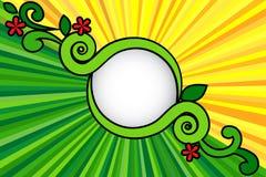 Sun&Grass Arkivfoto