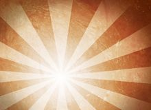 Sun grunge. Sun illustration on grungy, brown background Royalty Free Stock Photo