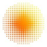 Sun-Halbtonbild Lizenzfreies Stockfoto