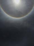 Sun-Halo Stockfoto