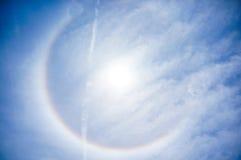 Sun-Halo am 16. April, Tampa Florida Stockfotos