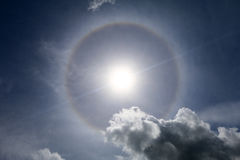 Sun halo in the sky - Series 2 Stock Photography