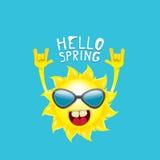 Sun hand rock n roll icon vector . Spring Stock Photo