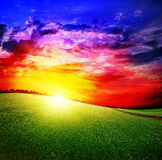 The sun has risen Royalty Free Stock Photography