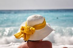 Sun hat Stock Photo