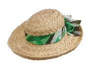 Sun Hat with Scarf Stock Image