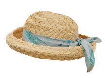Sun Hat with Scarf Stock Photography